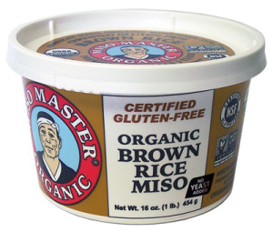 Miso Master Brown Rice Miso 16oz from Great Eastern Sun SKU:104071