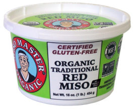 Miso Master Organic Traditional Red Miso 16 oz