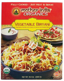 Mother India Organics Vegetable Biryani
