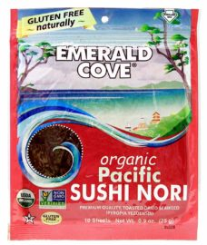 Emerald Cove Organic Pacific Toasted Sushi Nori