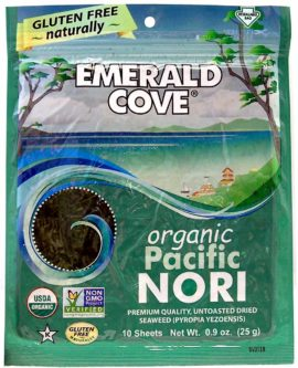 Emerald Cove Organic Pacific Nori Untoasted