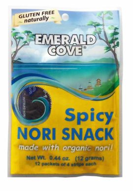 Emerald Cove Spicy Nori Snack