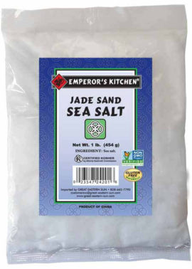Emperor's Kitchen Jade Sand Sea Salt 1 lb