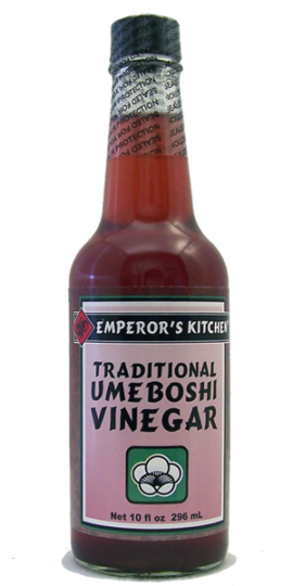 Emperor's Kitchen Kosher Traditional Ume Vinegar -10oz