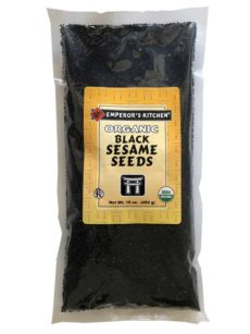 Emperor's Kitchen Organic Black Sesame Seeds