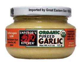 Emperor's Kitchen Organic Pureed Garlic