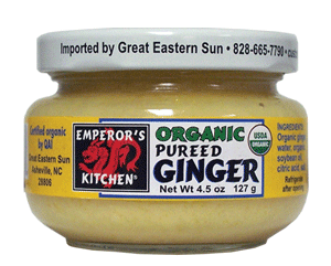 Emperor's Kitchen Organic Pureed Ginger 4.5 oz