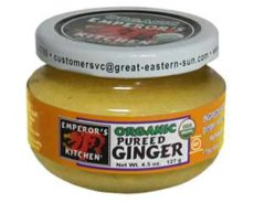 Emperor's Kitchen Organic Pureed Ginger