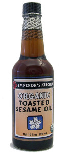 Emperor's Kitchen Organic Toasted Sesame Oil 10 oz