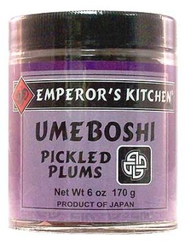 Emperor's Kitchen Umeboshi Pickled Plums 6 oz