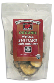 Emperor's Kitchen Organic Whole Shiitake Mushroom 1.76 oz