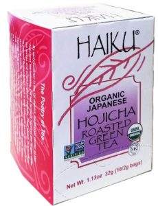 Haiku Organic Japanese Hojicha Roasted Green Tea