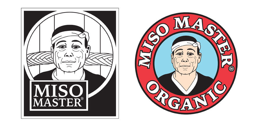 Miso Master Logos Old to New