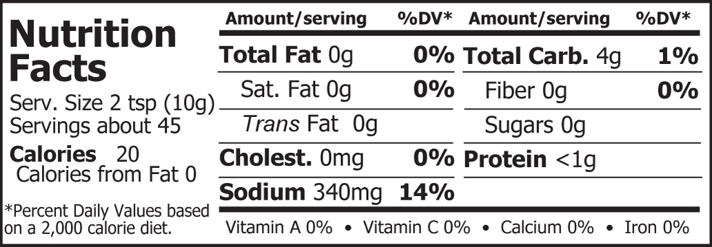 Miso Master Organic Chickpea Miso Nutritional Facts 16 oz
