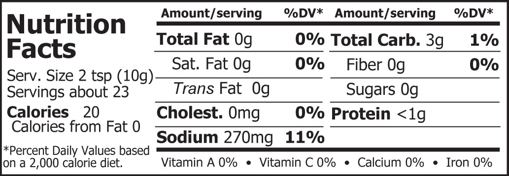 Miso Master Organic Sweet White Miso Nutrition Facts 8 oz