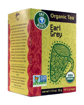 One World® Organic Earl Grey Tea 16 Teabags