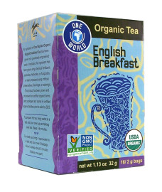 One World® Organic English Breakfast Tea 16 Teabags