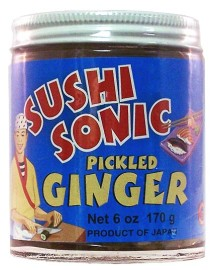 Sushi Sonic® Pickled Ginger 6 oz