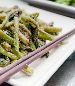 Green Beans in Sesame Miso recipe
