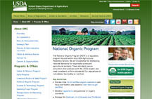USDA Organic Certification Link