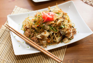 Fried Soba Recipe with Organic Planet Organic Noodles
