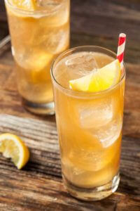 Hojicha Roasted Green Tea Cooler recipe