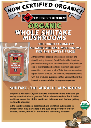 emperor's-kitchen-organic-shiitake-information-flyer