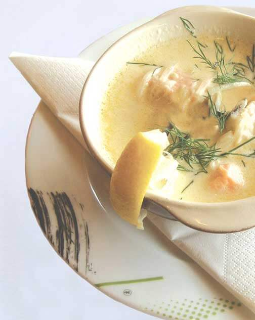 Caribbean Fish Chowder with Miso Master Organic Mellow White Miso