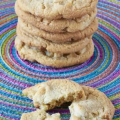 Double White Chocolate Chip Cookies