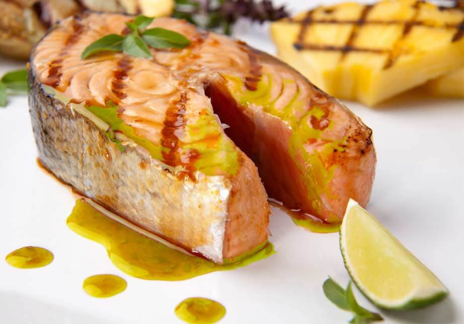 Miso Wild Salmon with Lime-Ginger Glaze