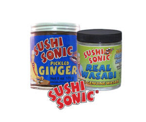 Sushi Sonic Asian Condiments