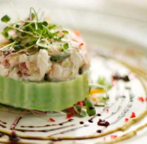 Wasabi Lime Crab Salad with Sushi Sonic 100% Real Wasabi Powder