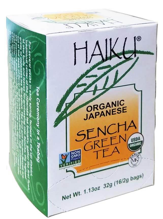 Haiku Organic Japanese Sencha Tea