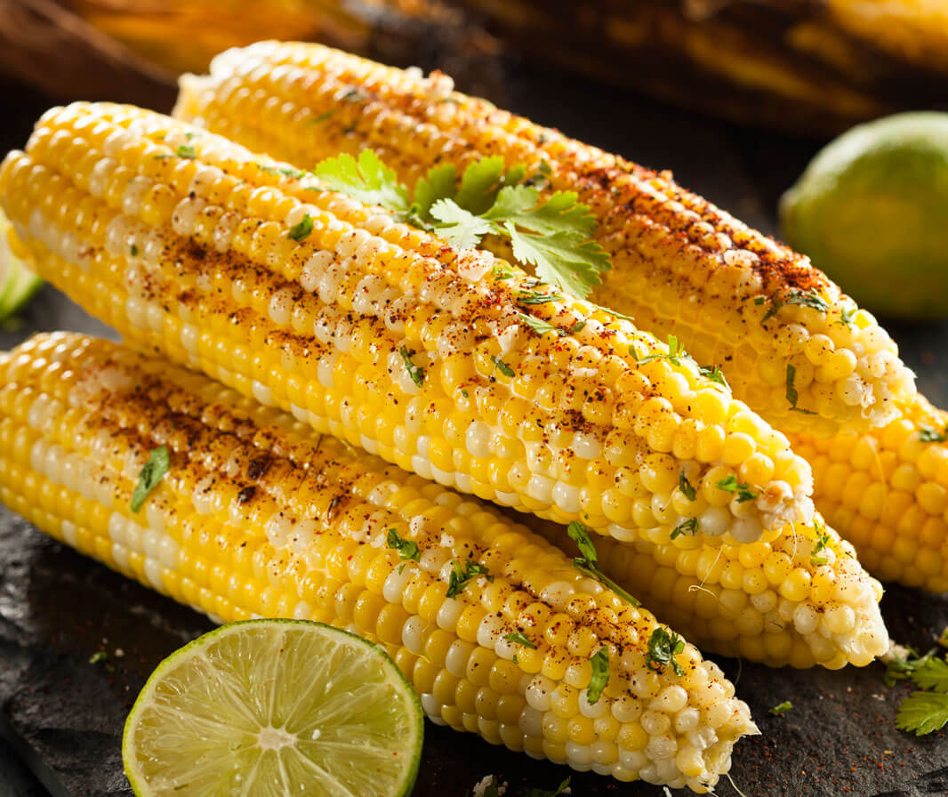 Grilled Sweet Corn with Miso Master Miso Butter