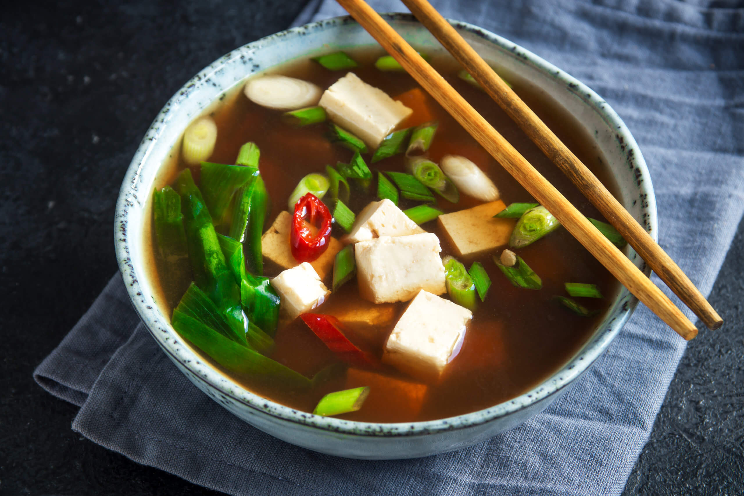 Make homemade Japanese Dashi Soup Broth