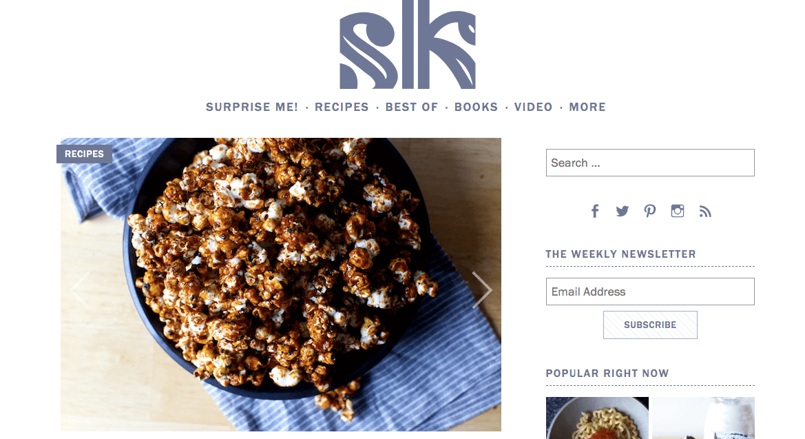 Smitten Kitchen Miso Black Sesame Caramel Corn