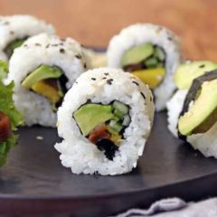 Chef Tom's Roll Your Own California Sushi