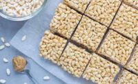 Almond Butter Crispy Treats with Sweet Cloud Organic Brown Rice Syrup