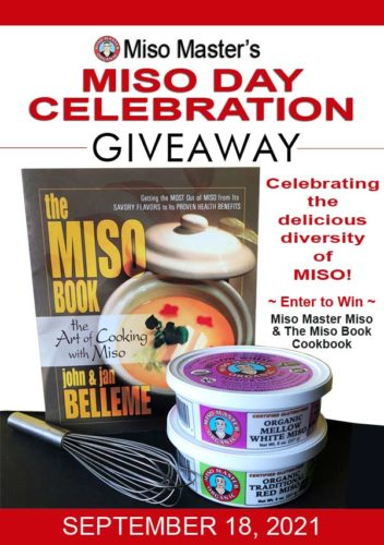 Miso Master Miso Day Celebration Giveaway