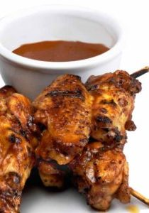Grilled Honey Miso Wings with Miso Master Organic Mellow White Miso
