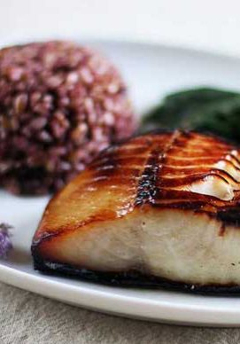 Chef Nobu's Miso Marinated Black Cod with Miso Master Organic Mellow White Miso